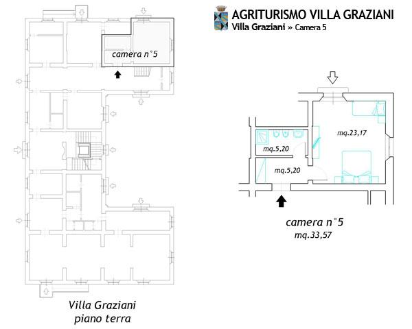Camere in agriturismo a vada vicino al mare rosignano for Planimetrie della villa toscana