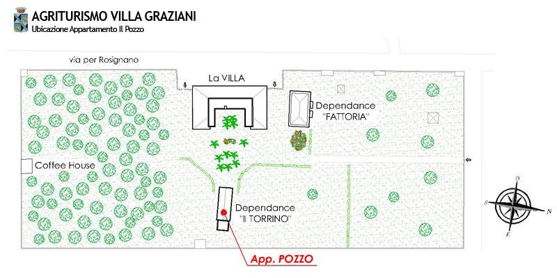 Appartamenti in agriturismo a vada vicino al mare for Planimetrie della fattoria contemporanea